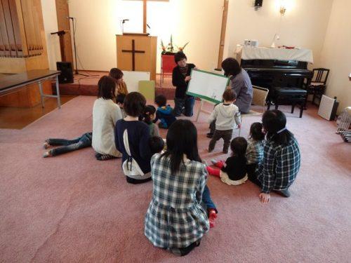 こひつじクラス @ 古川福音自由教会
